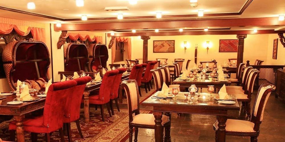 Restaurante mumtaz mahal arabian courtyard hotel & spa bur dubai