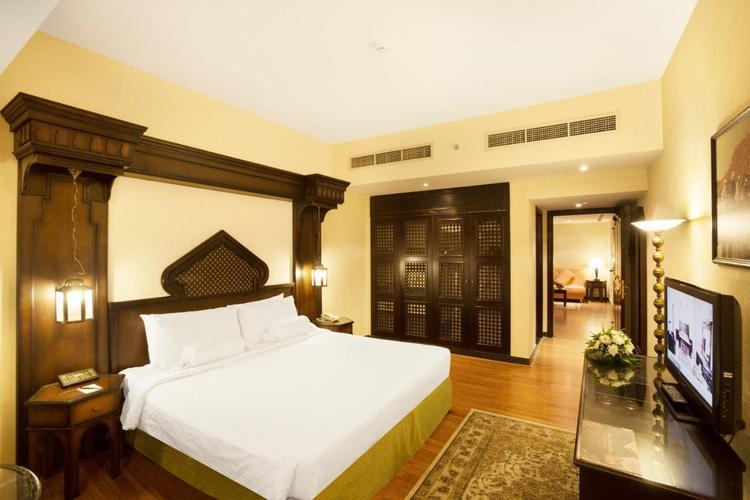 Habitación arabian courtyard hotel & spa bur dubai