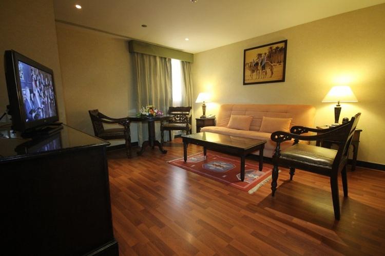 Suites familiares arabian courtyard hotel & spa bur dubai