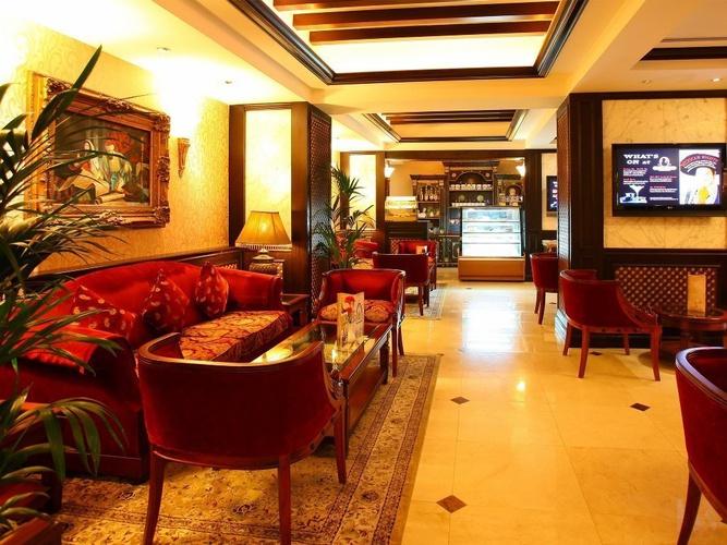 Ahlan lounge arabian courtyard hotel & spa bur dubai