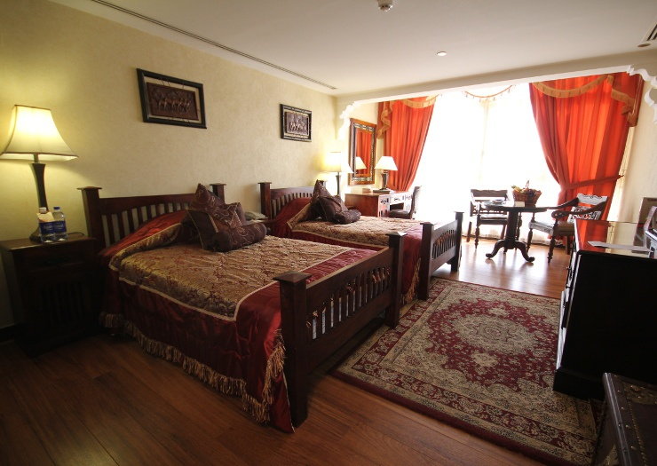 Grand suites arabian courtyard hotel & spa bur dubai